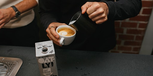 Oatly x Origin Zero Waste Latte Art Throwdown