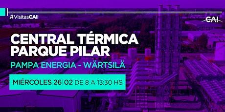 VISITA A LA CENTRAL TÉRMICA PARQUE PILAR - PAMPA ENERGÍA ° WÄRTSILÄ entradas