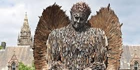 Saltmine production @ Knife Angel