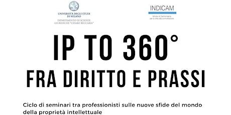 IP TO 360°  FRA DIRITTO E PRASSI biglietti