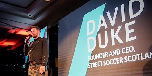 Street Soccer Scotland Business Club with David Duke MBE