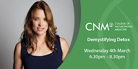 CNM Edinburgh - Demystifying Detox tickets