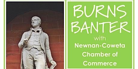 Burns Banter with Newnan-Coweta Chamber, Georgia, USA tickets