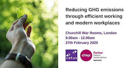 Reducing GHG emissions through efficient working and modern workplaces tickets