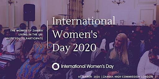 Zambians in the UK   -  International Women's Day 2020
