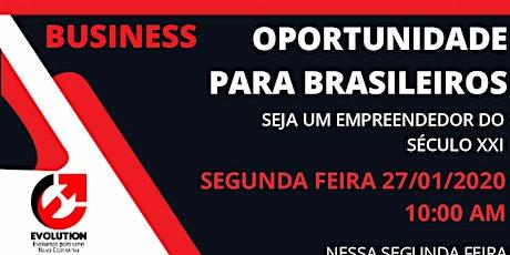 Oportunidade para Brasileiros bilhetes