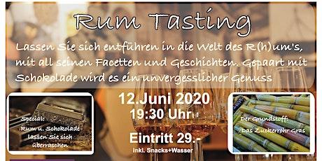 Rum-Tasting Tickets