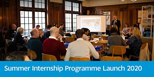 Summer Internships - Programme Launch