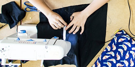Beginner's Learn To Sew Class - 2 x Tuesday EVENINGS 18th & 25th Feb tickets