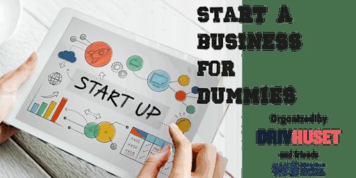 Start a business for dummies