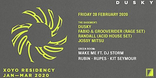 Dusky, Fabio & Grooverider, Randall (Acid set), Jossy Mitsu & Make Me