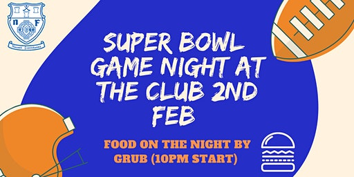 SUPER BOWL NIGHT
