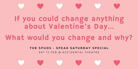 The SPUDS Public Speaking Belfast: Valentine's Day Special tickets