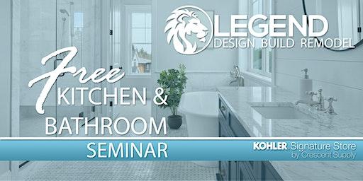 Kitchen & Bath Design Seminar: Design & Remodeling Basics