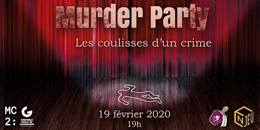 Murder Party 19 février à la MC2
