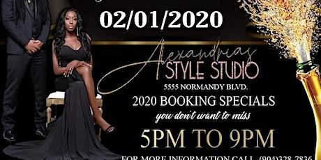 NEW DATE!! GRAND OPENING   ALEXANDRIA'S STYLE STUDIO LUXURY VENUE tickets