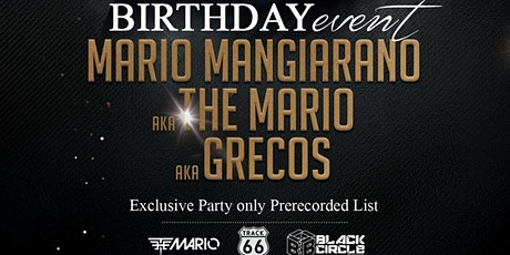 The Mario BDay - Exclusive Party - Martedi 25 Febbraio tickets