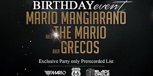 The Mario BDay - Exclusive Party - Martedi 25 Febbraio