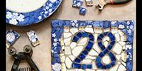Mosaic House number tickets