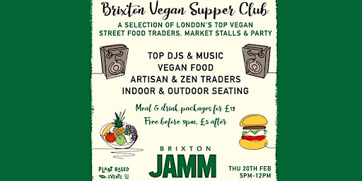 The Vegan Supper Club