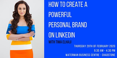 How to Create a Powerful Personal Brand on LinkedIn tickets