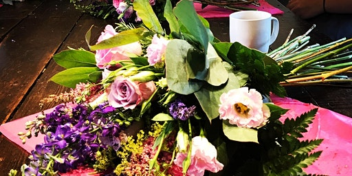 Mothers day workshop - hand-tied posy