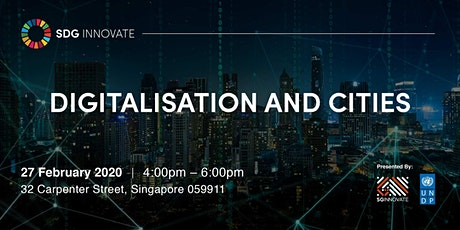 SDG Innovate: Digitalisation and Cities tickets
