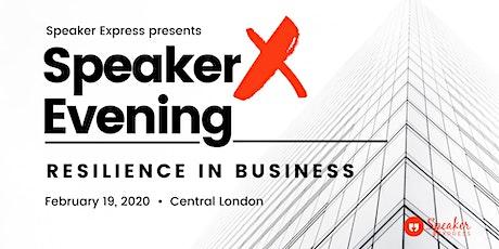 Public Speaking - SpeakerX Evening(Ted Talk inspired evening) tickets