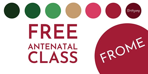 FREE Antenatal Class (St Mary's Church Hall, Frome)