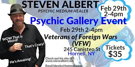 Steven Albert: Psychic Medium Gallery VFW - 2/29 tickets