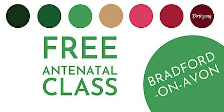 FREE Antenatal Class (Bradford-on-Avon) tickets