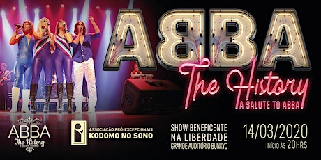 Show Beneficente ABBA | The History - A salute to ABBA ingressos