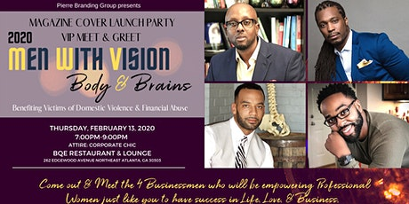 Men With Vision...Body & Brains Cover Launch Party and Meet & Greet tickets