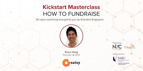 Kickstart Masterclass: How to fundraise tickets