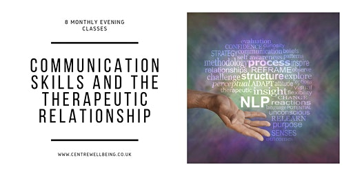 Communication Skills & the Therapeutic Relationship accredited training