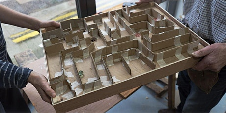 Workshop: Make your own Marble Labyrinth Game tickets