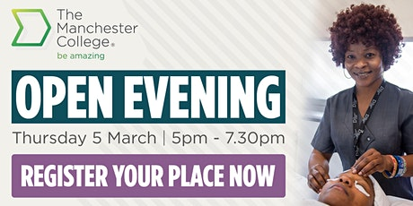 16-18 School Leaver and Adult Open Evening - Wythenshawe tickets