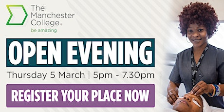 16-18 School Leaver and Adult Open Evening - Openshaw tickets