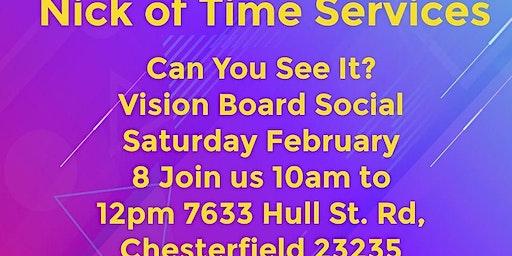 POP UP VISION BOARD SOCIAL