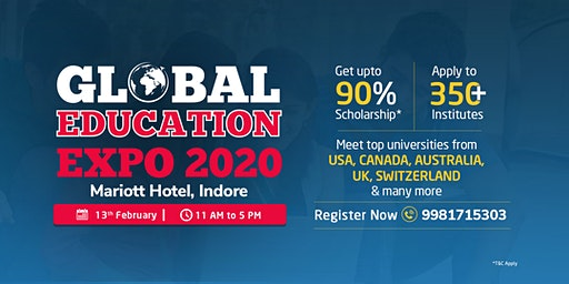 Global Education Expo 2020 - Indore | 13 th Feb