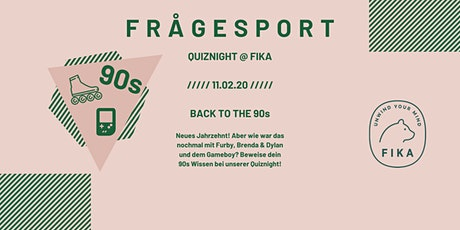 Frågesport - Fika is Quiznight Tickets