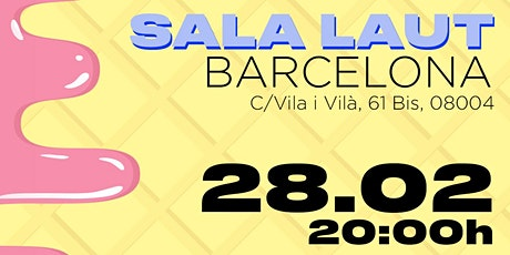 FLASHY ICE CREAM - Sala Laut (Barcelona) entradas