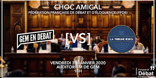 Choc de poule FFDE : GEM en Débat contre La Tribune Ieseg