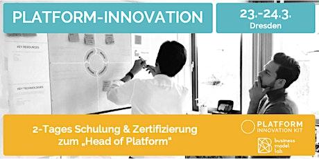 Schulung + Zertifizierung zum Head of Platform Tickets