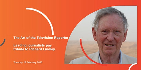 The Media Society: The Art of the Television Reporter tickets