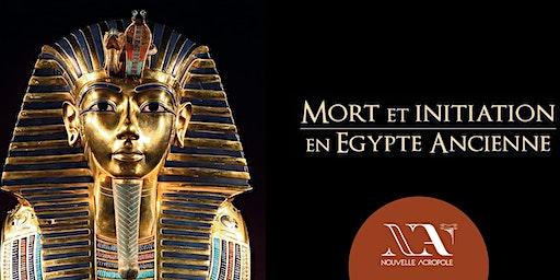 Conférence - Mort et initiation en Egypte ancienne.