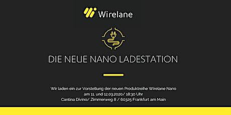 Die neue NANO Ladestation Tickets