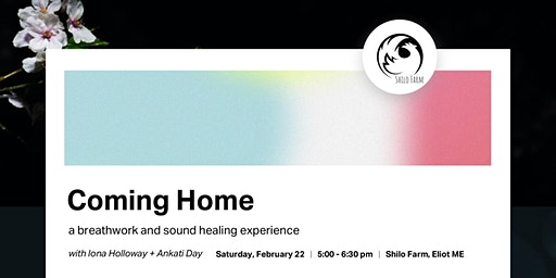 Coming Home :: Breathwork and Sound Healing with Iona & Ankati
