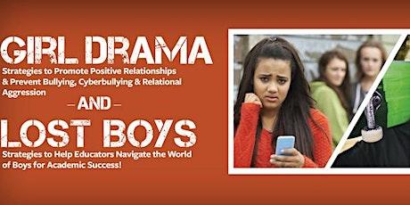 Girl Drama/Lost Boys Seminar: Boston, MA  17 March 2020 tickets