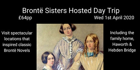 Brontë Sisters Hosted Day Trip tickets